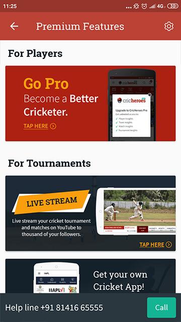 CricHeroes - World's Number 1 Cricket Scoring App