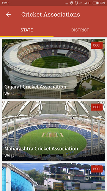 Cricket Associations