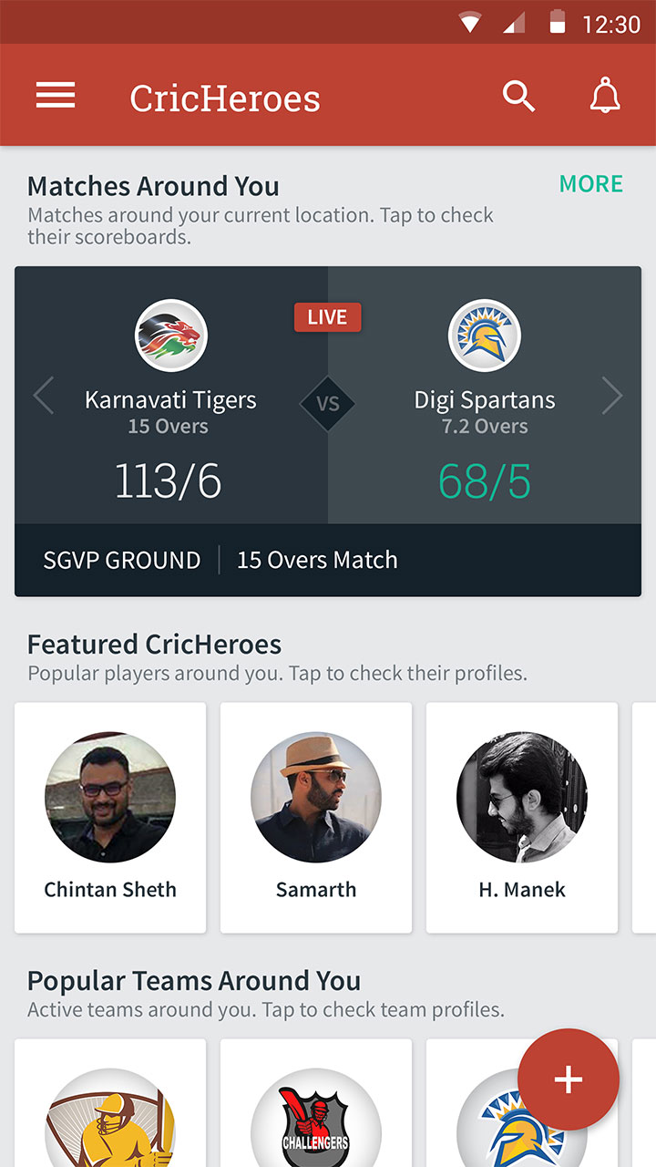 CricHeroes - World's Number 1 Cricket Scoring App